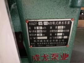 WLN威龙水泵 威龙65QZF50/110N水泵