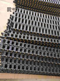 工程塑料拖链|承重耐磨加长不下塌型塑料拖链|优质质量拖链