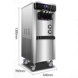 小型冰激凌机,网红冰激凌机器,手动冰激凌机