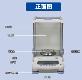 SHIMADZU岛津AUW220D/82g/0.01mg直通视窗电能通讯分析天平