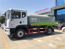 国六12吨绿化洒水车