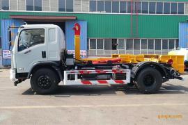 国六车厢可卸式垃圾车|拉臂式垃圾车|勾臂式垃圾车