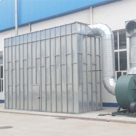 木器厂脉冲布袋除尘器采用防静电滤袋