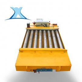 电动平台车轮毂热处理运输车 kpd低压轨道供电轨道平车