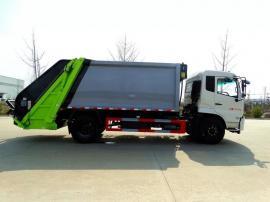 8吨后装式压缩垃圾车