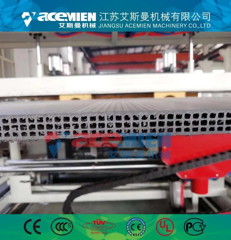 pp塑料格子模板设备-塑料中空建筑模板设备