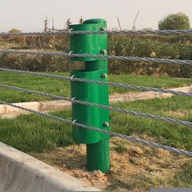 缆索式护栏柔性缆绳护栏缆瑞现货