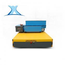 钢结构板厂区内转运胶轮无轨车 钢板焊接梁式结构电磁刹车