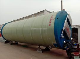 预制式一体化雨水提升泵站玻璃钢筒体