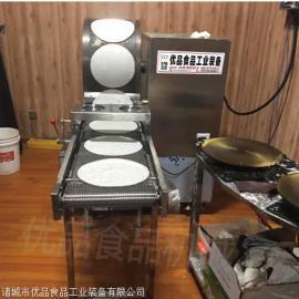 不锈钢电加热自动恒温春卷皮机 定制加工春卷皮机器操作简单耐用
