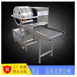 优品YP-140烤鸭饼机 自动变频烤鸭饼机器 酱鸭饼皮机