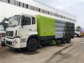 东风天龙3轴25吨洗扫车