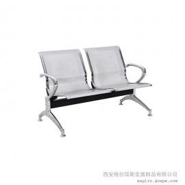 不锈钢连排椅厂 销售电镀排椅 多人位机场候车椅报价 送货安装
