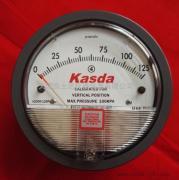机械式压差表K2000-125pa气体微压差压计