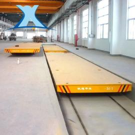 水泥板搬运车混凝土预制板平板轨道台车模具转远平板车