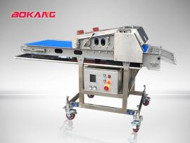 博康YZJ600全自动鸡排压整机 鸡排 腿排 牛排压延压薄的机器