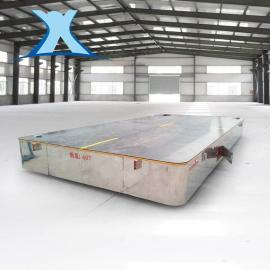 30吨平移车水泥板搬运车双向牵引轨道车转运预制板搬运车