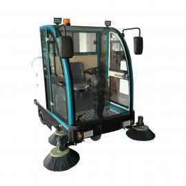 全封闭电动驾驶式扫地车2100升级版环保道路清扫车