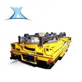 车间铝铸件搬运专用蓄电池轨道平板车 冶金行业重点应用
