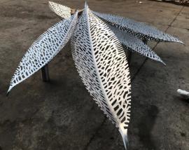 异形不锈钢雕塑加工定制