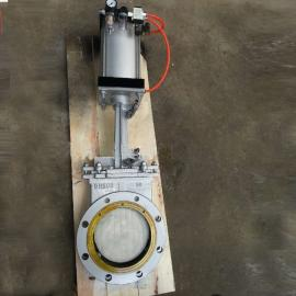 PZ643H-1.0对夹式气动刀型闸阀