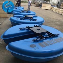 QFB0.75浮筒式曝气机 河道潜水曝气机 漂浮式浮筒曝气机