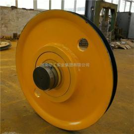 5吨-50吨铸钢轧制起重机滑轮组 双梁吊钩滑轮组 抓斗用导绳轮