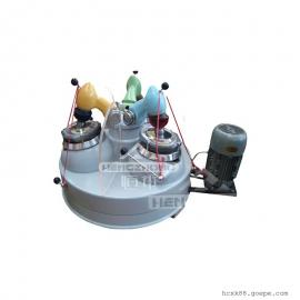 实验干磨机 三头研磨机