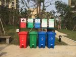 仪征园林街道加厚分类垃圾桶