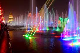 品尚灯光音乐喷泉