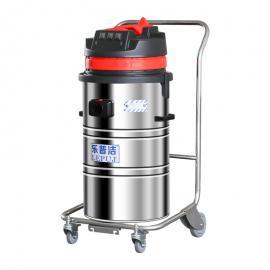 新建厂房地面清洁用乐普洁大功率工业吸尘器LP368B油渍铁渣专用