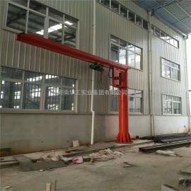 BZD型定柱式悬臂起重机 500公斤电动旋转悬臂吊 物料吊卸独臂吊