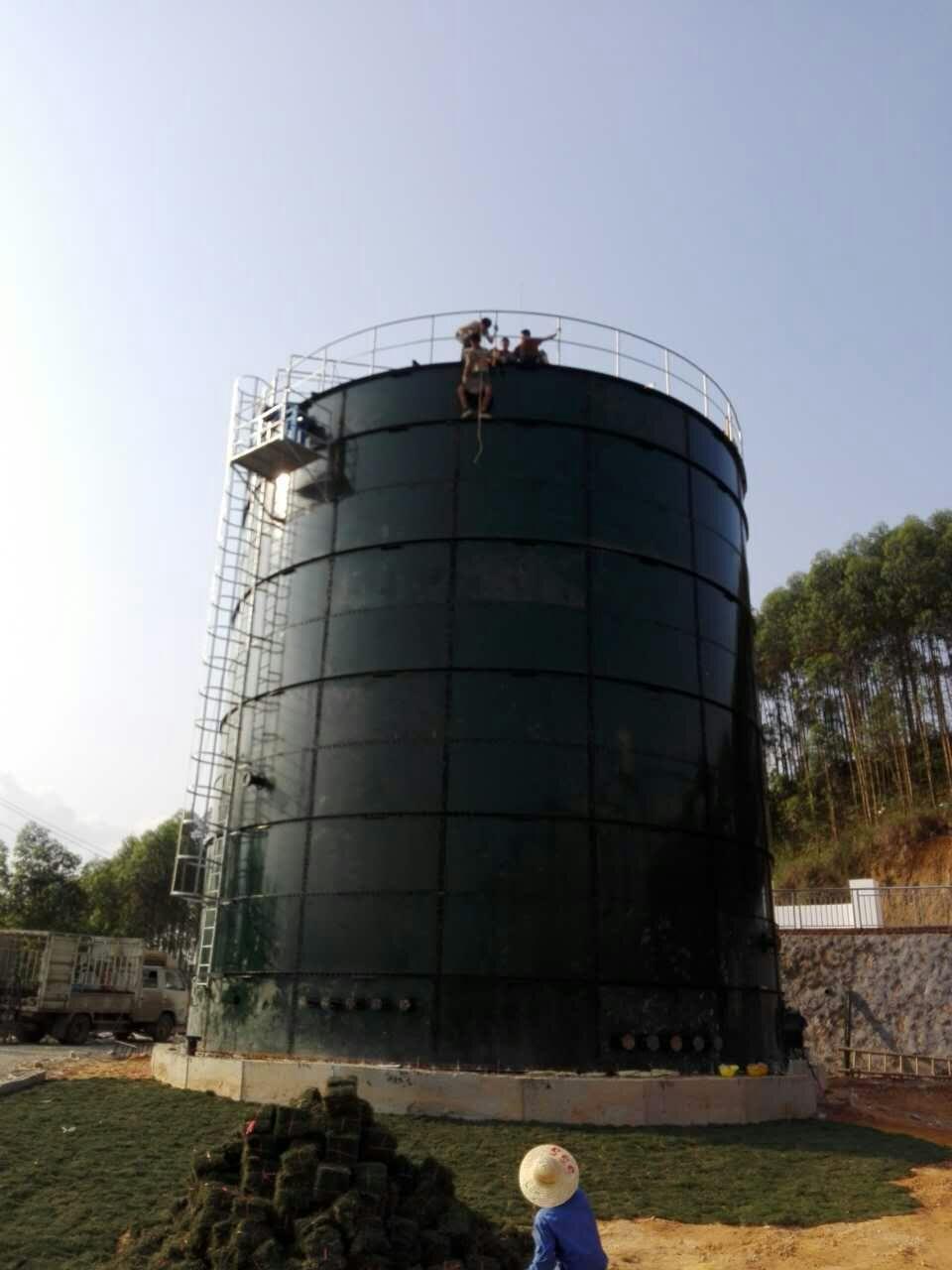 大型沼气工程用拼装罐5000立方 污水处理沼气工程