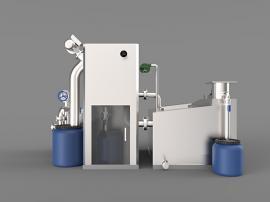 油水分离设备油水分离机餐饮用不锈钢油水分离设备