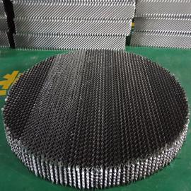 不锈钢304 316 金属规整填料孔板波纹填料