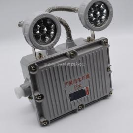 BAYD81带蓄电池壁挂防爆双头灯|化工厂应急灯