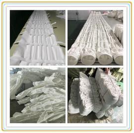 生产涤纶针刺毡褶皱除尘布袋超低排放经济实用