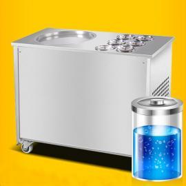 多功能炒酸奶机的报价,酸奶机多钱一台,炒酸奶酸奶机