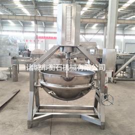 夹层锅的选型煮笋干夹层锅蒸汽型夹层锅衡石机械