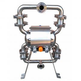卫生级气动隔膜泵 不锈钢卫生泵(食品泵)