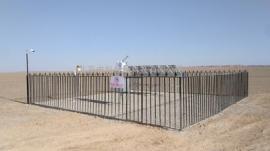 光热示范电站运行测光太阳能辐射监测系统
