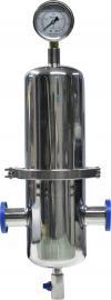 不锈钢卫生级空气过滤器 无菌气体过滤器 压缩气体除菌过滤器