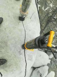 静态液压破石头机器劈石机