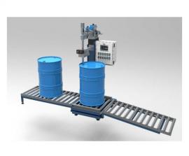 60升石油化工原料灌装设备,称重液体灌装机