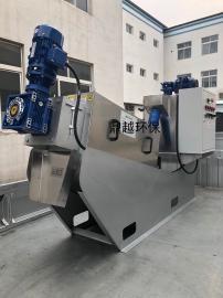 鼎越环保制药厂污水处理设备叠螺式污泥脱水机脱泥机