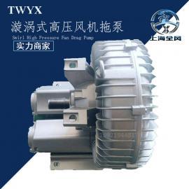 直连式皮带轮发动机专用漩涡式高压风机拖泵头