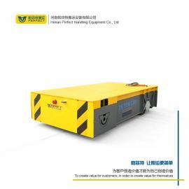 蓄电池电动平板车 汽车无轨胶轮车 10吨无轨道胶轮电动平车