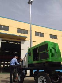 BT6000G 移动照明灯塔,4000W拖式移动升降照明车