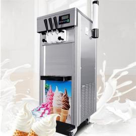 冒烟的冰淇淋机,冰淇淋商用冰淇淋机,商业冰淇淋机