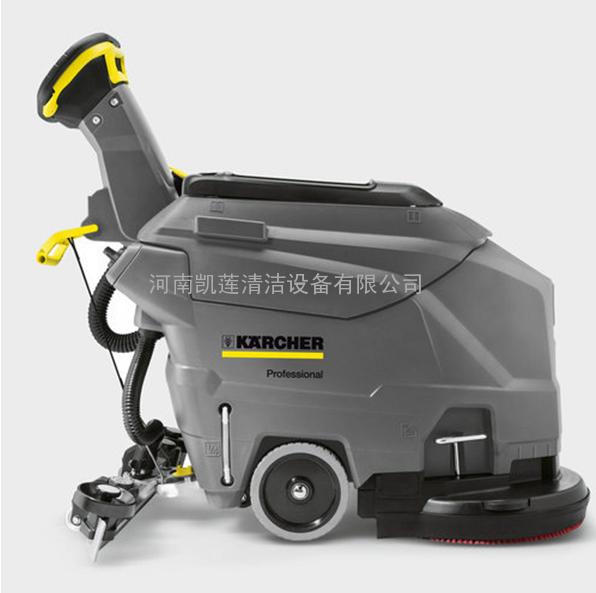 地下停车场地面用手推式凯驰BD50/50C洗地机